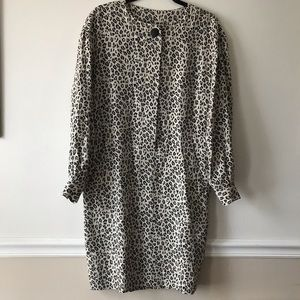 Leopard Print Tunic Style Dress with Pockets❣️